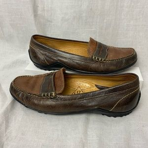 Martin Dingman Driver's Loafers Hand Stitched